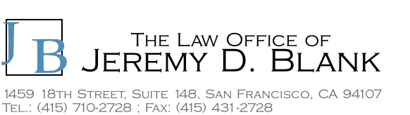 The Law Office of Jeremy D. Blank